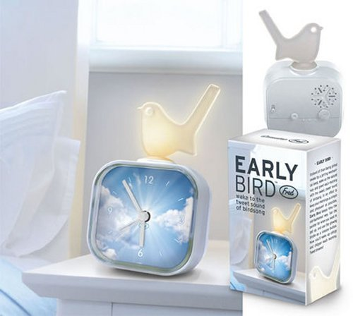 Early Bird alarm clock wakes you with birdsong, reminds you that Twitter is waiting