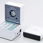 TV Remote features built-in speaker