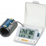 Panasonic's first Blood Pressure Monitor with SD Card