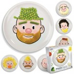 Food Face plates make playing with your food acceptable