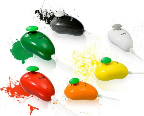 Colorful Wii Nunchuks are Wii FunChuks
