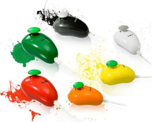 Colorful Wii Nunchuks are Wii FunChuks