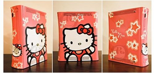 Oh The Humanity: Hello Kitty Xbox 360