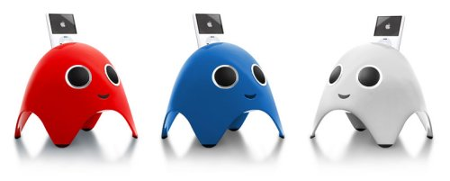 iBoo iPod dock moonlights as Pac-Man villain