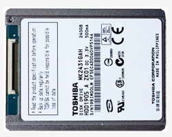 Toshiba iPod HDD Upgrade