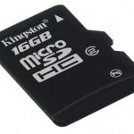 Kingston unveils 16GB microSDHC card