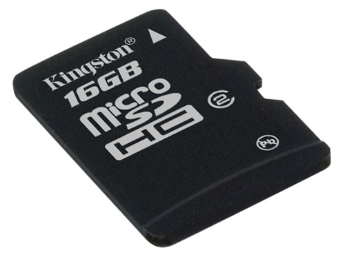 Kingston microSDHC 16 GB