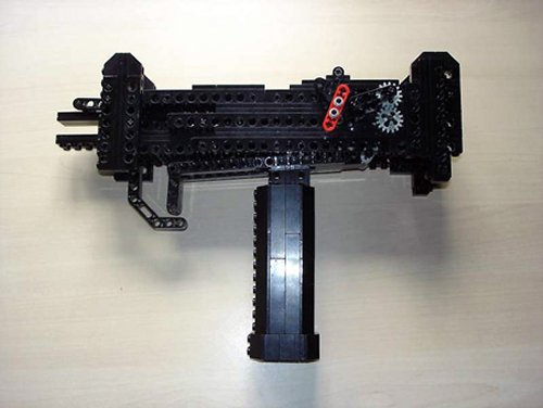 Fully-Automatic LEGO Uzi