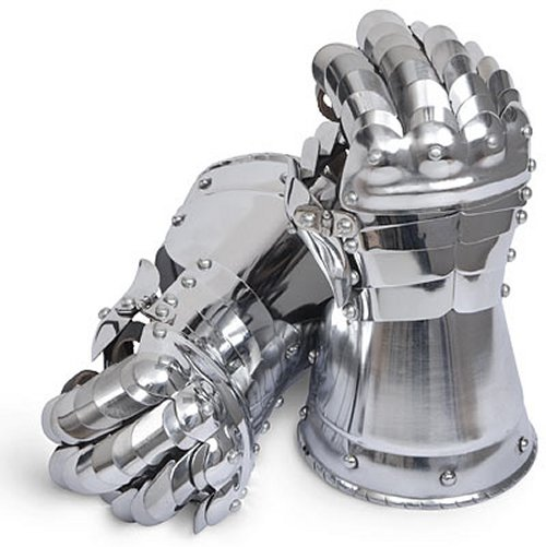 Steel gauntlets: Get medieval on your keyboard