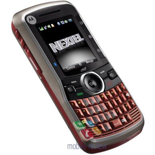 Motorola i465 press pictures leaked