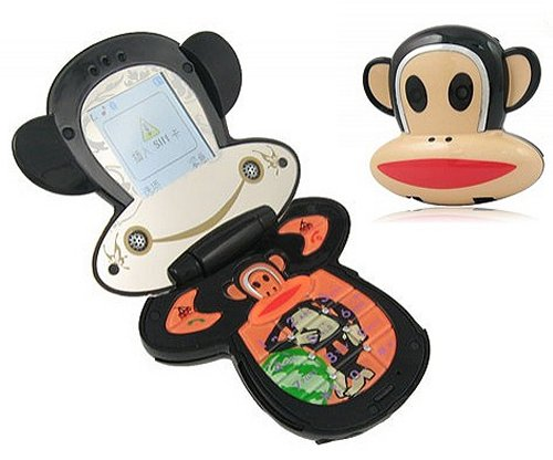 Paul Frank monkey head phone