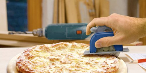 Pizza Pro 3000 Circular Saw is the manly way to slice pizza