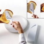 Portable Toaster makes burning your hand easy