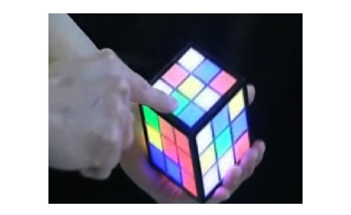 Rubik's TouchCube: The first touchscreen Rubik's Cube