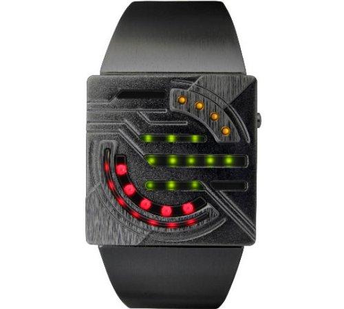 Kisai Sensai Tokyoflash aluminum LED watch