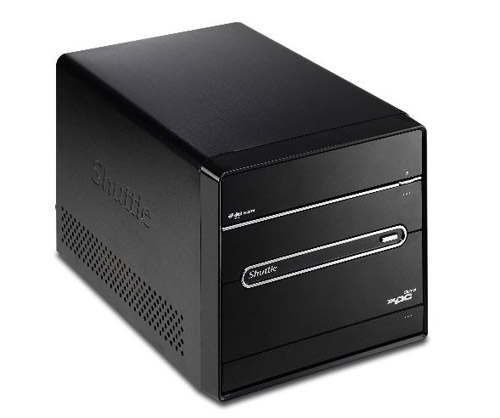 Shuttle Phenom II SFF