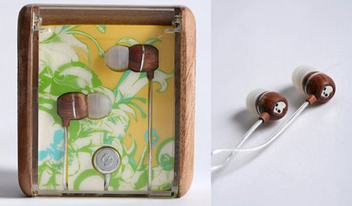 Skullcandy releases wood-grain earbuds