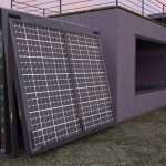 The Solar Tree soaks up rays in your yard