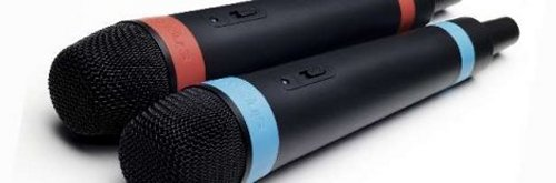 Sony wireless SingStar microphones