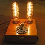 Homemade Steampunk lamp