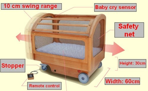 Robotic baby bed makes it easy to neglect your kid
