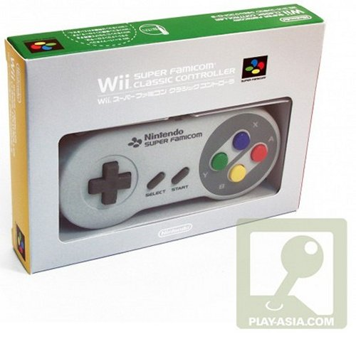 Wii Super Famicom classic controller now available