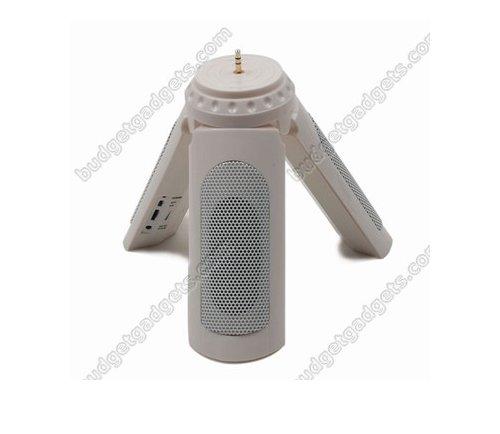 Tripod iPod speaker