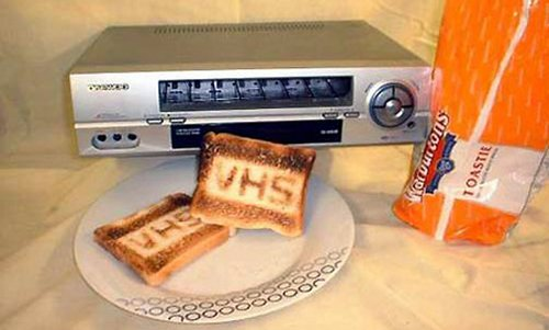 VHS Toaster wins toaster format war against Bagelmax