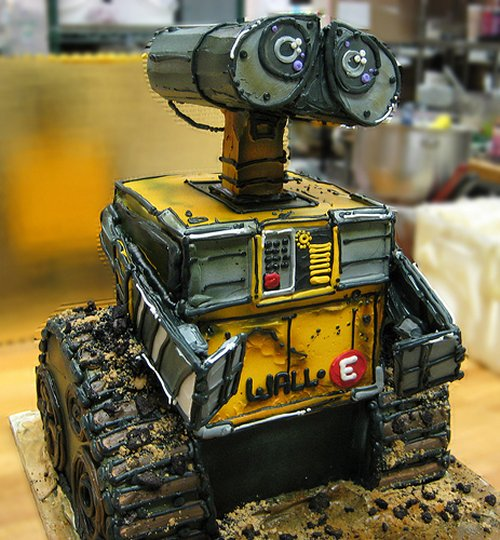 20 awesome robot cakes