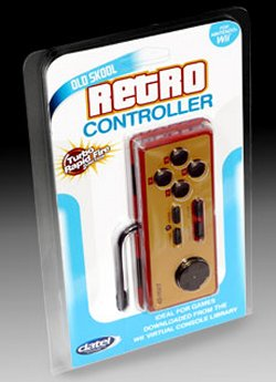 Retro NES classic controllers for the Wii
