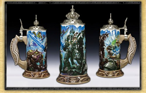 Get your drink on with World of Warcraft Steins