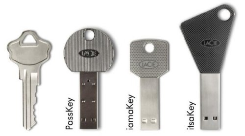 LaCie&#039;s new USB key drives