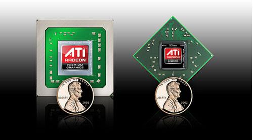 ATI HD 4800 Mobile GPUs