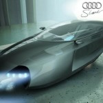 Audi Shark flying car concept