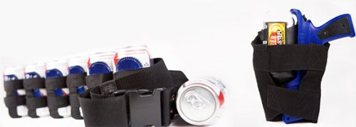 The Beer Blaster holster