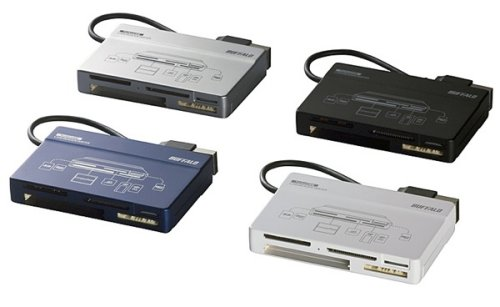 Buffalo's Turbo USB memory card reader