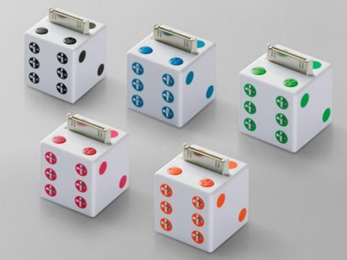 Buffalo Dice iPod speaker