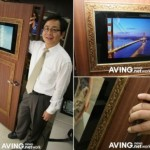 Elivision puts 17-inch LCD display on a door