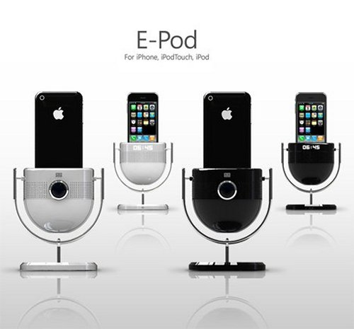 The E-Pod iPod dock