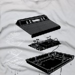Exploded Atari 2600 T-shirt is awesome