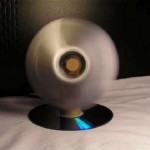 USB-Powered fan made from CDs