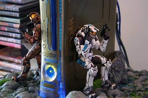 Cool Halo Xbox 360 diorama