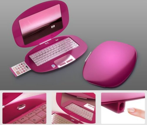 Laptop concepts aimed at women