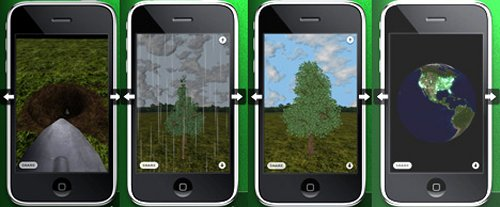 iPhorest: Plant a tree from your iPhone
