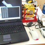 3D scanner made from Legos