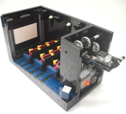 LEGO movie theater with working projector