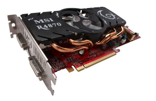 MSI HD 4870 Video Card