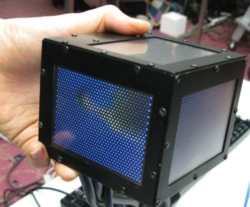 gCubik: A 3D TV in a cube