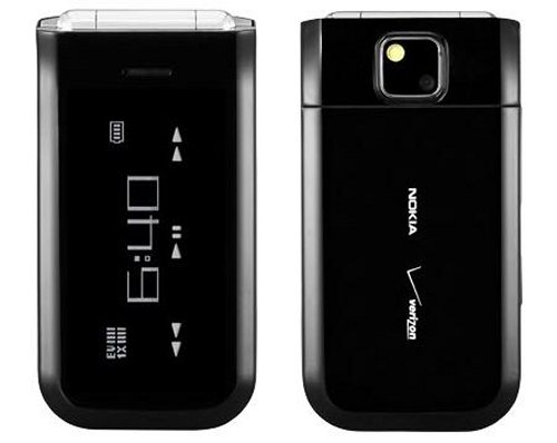 Intriguing Nokia 7205 Intrigue CDMA flip phone