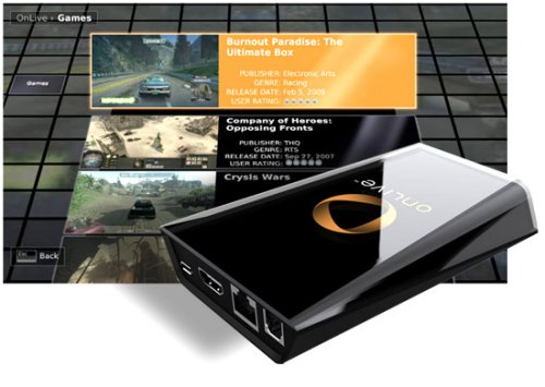 OnLive streaming gaming service: The future of gaming?